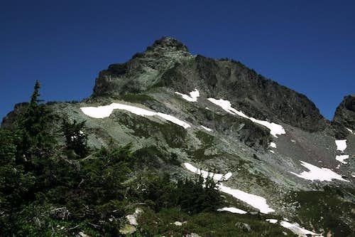 Chikamin Peak from Chikamin Ridge