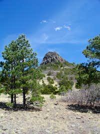 Cerro Pedernal from 4WD parking
