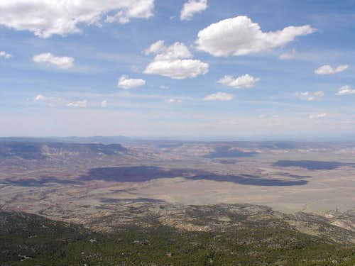 From the summit of Cerro Pedernal