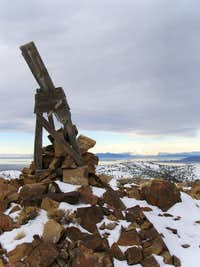 The Cairn on top