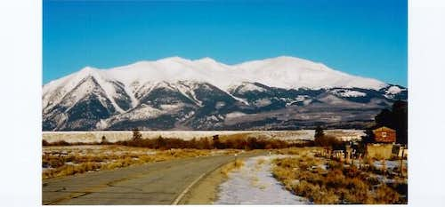 Mt. Elbert. March 2004