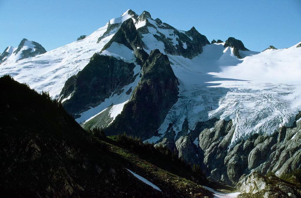 Dome Peak as seen from the...