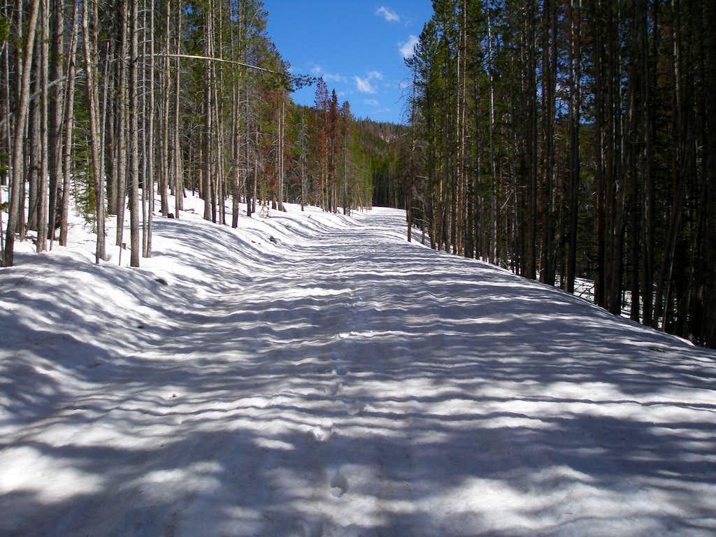 Hell Hole Basin road