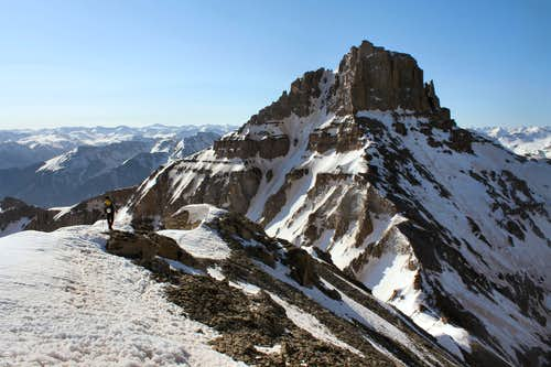 Potosi Peak\'s North Couloir
