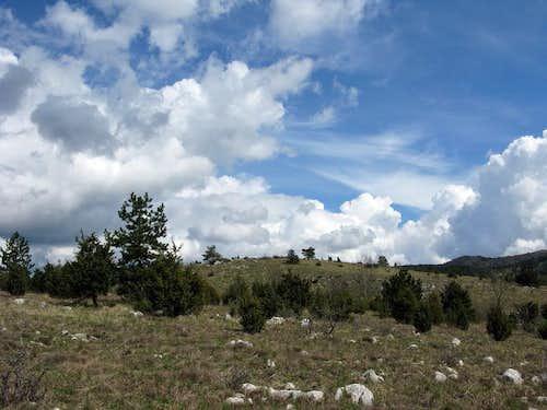 Hiking on Ćićarija