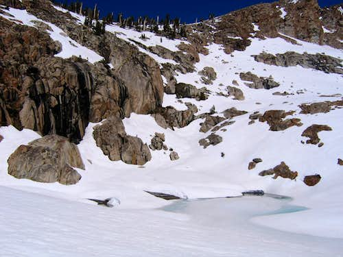 Unnamed lake below Silliman