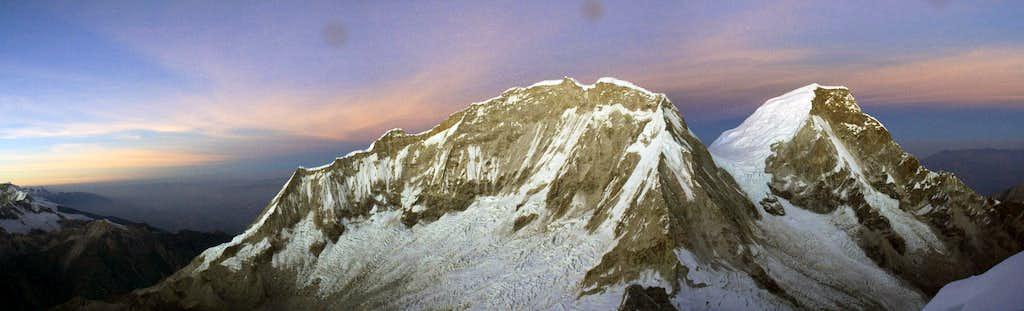 Huascaran panorama
