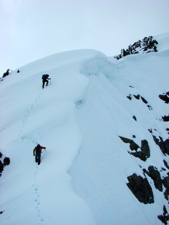 Summit Ridge of Golden Ears