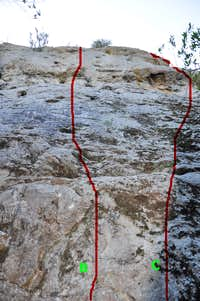 Climbs of the mid-face