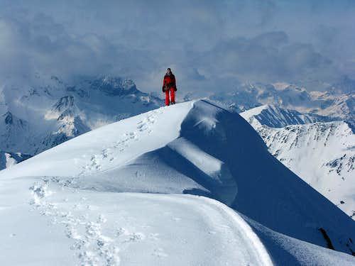 Summit of Piz Forun 3052m