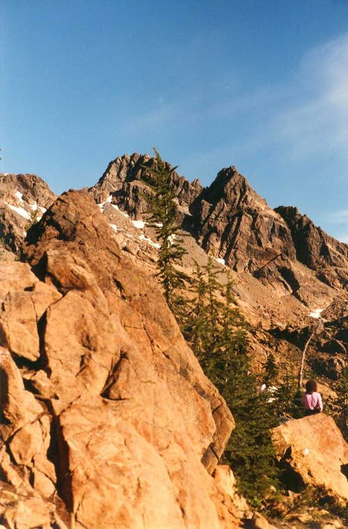 Ingalls Peaks from Ingalls Pass