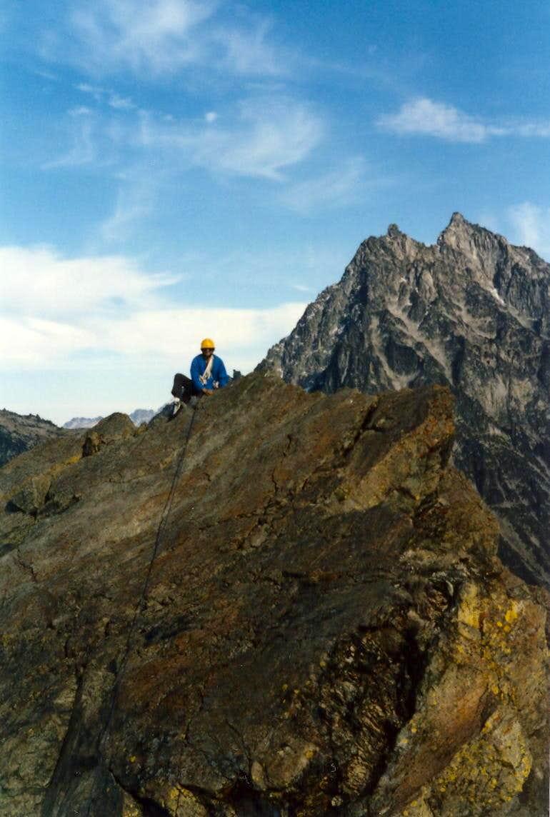 Summit of North Ingalls Peak
