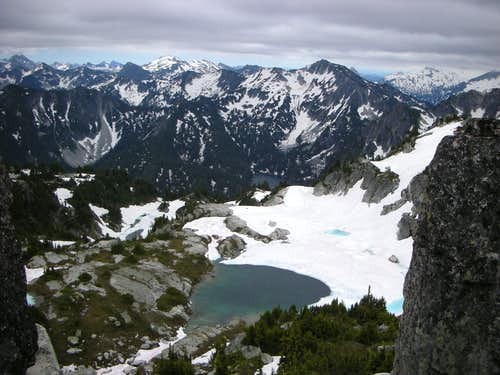 View from Summit of Nimbus
