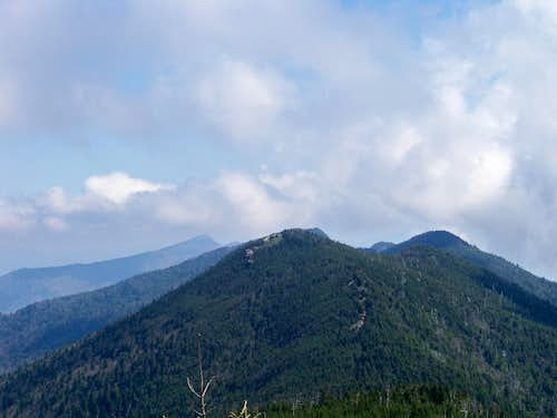 Black Mountains, Looking North from near Mount Mitchell