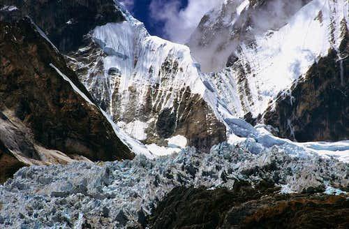 Yerupaja glacier