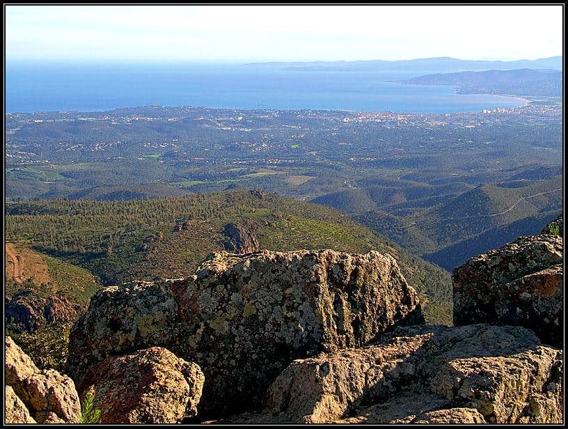 Mont Vinaigre SW view