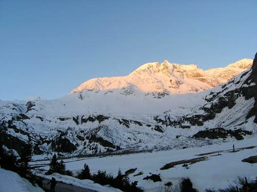 The north face of Hoher...
