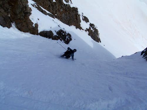 Tyler Skiing the North
