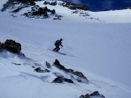 Tyler Skiing