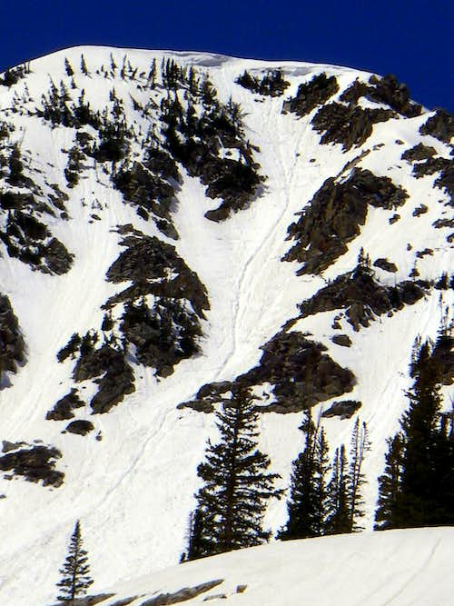 The East Couloir (Mt Tuscarora)