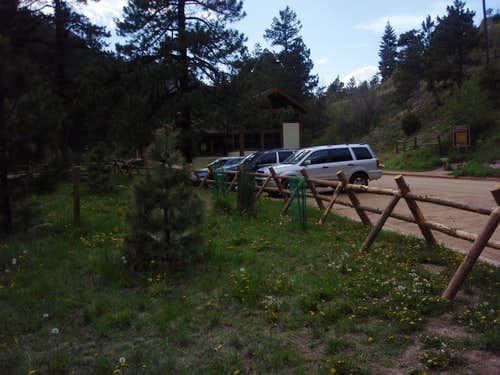 Eldorado Canyon Trailhead