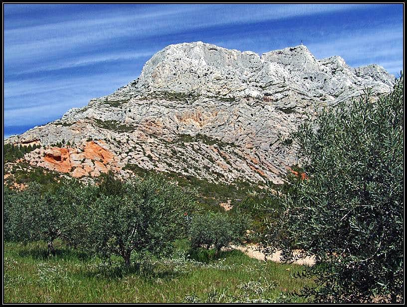 Croix de Provence from the SW