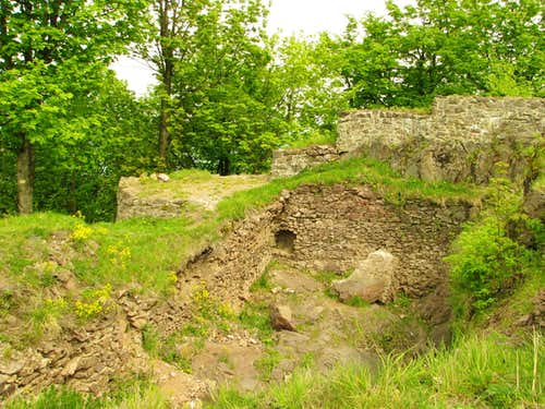 Ruins of Rogowiec Castle