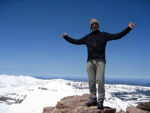 Stan on Kings Peak