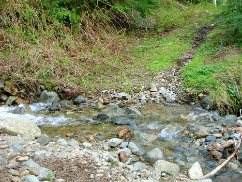 Temple Mountain Stream Crossing