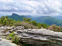 Table Rock & Linville Gorge from Hawksbill