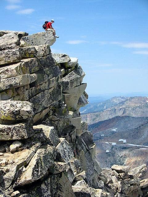 Loopdedo on the summit of Mt...