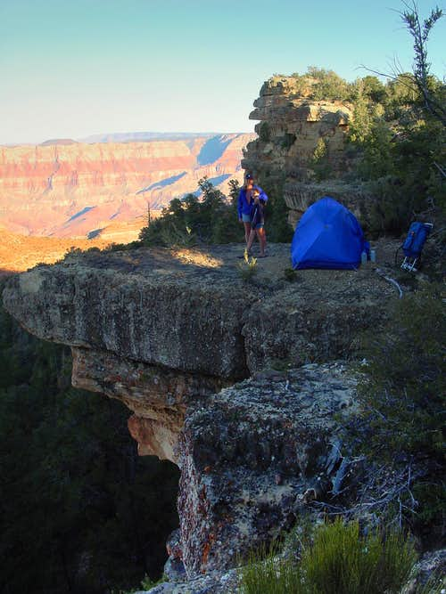 camp on the edge