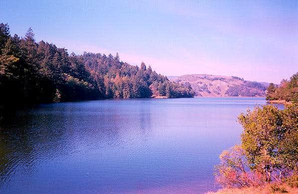 Bon Tempe Lake, which is near...