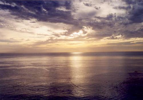 Pacific Ocean, as seen from...
