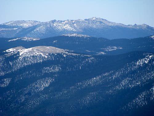 Lost Creek Wildernis from summit