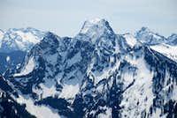 Big Four and Hall Peak