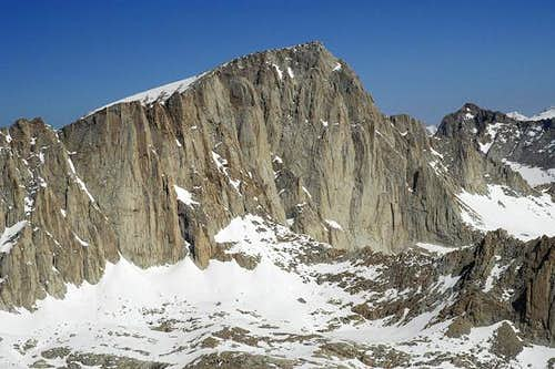 east side of Mt. Whitney from...