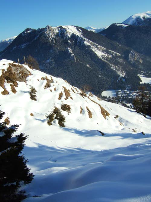 Towards Presolana pass
