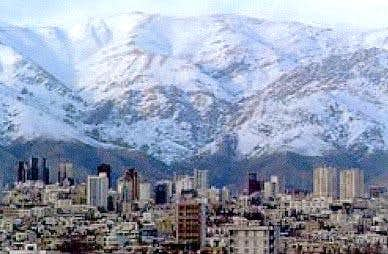 Tehran and Mt. Tochal