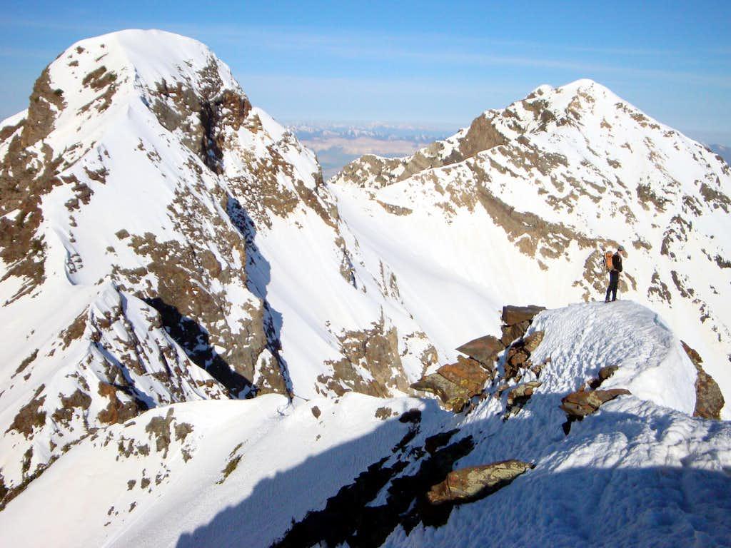 Approaching Dromedary Peak