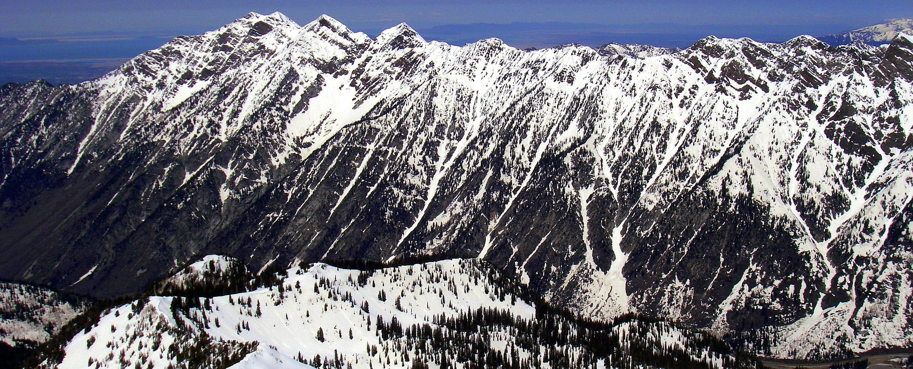 Winter in the Wasatch Range