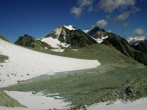 Close to Col du Mont Gelè....