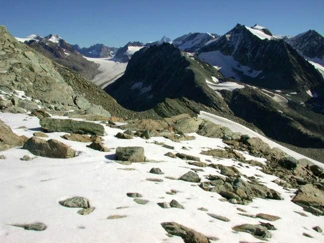 Col du Mont Gelè. Otemma...