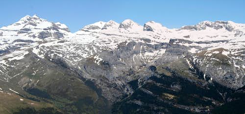 Monte Perdido from the Castillo Mayor