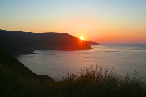 Meat Cove Sunset