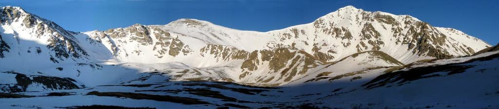 High on the Divide - Grays and Torreys