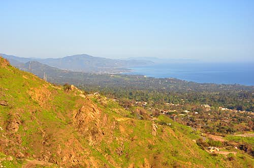 Views of Santa Barbara From Upper Gibraltar Rock