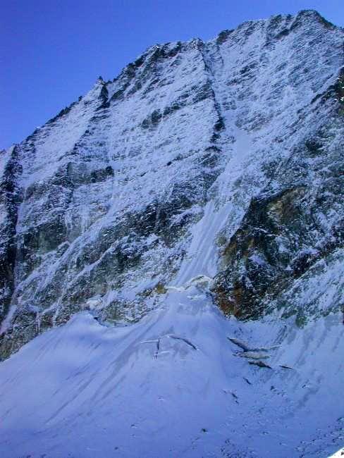 Mont Gelè North face. Seen...