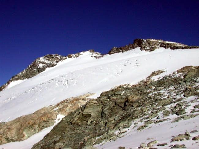 Mont Gelè and Mont Gelè upper...