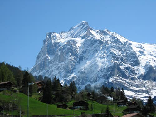 Wetterhorn during the golden and the post golden age